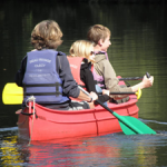 Canoeing in the Orne